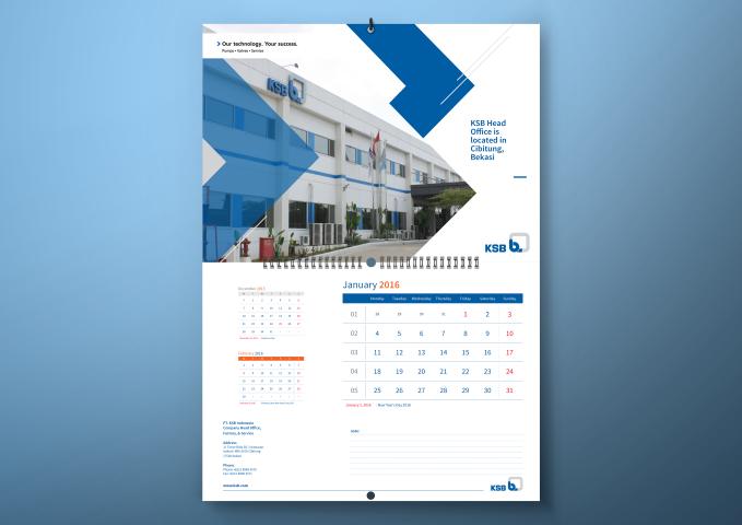 Harga Jasa Desain Kalender (KSB)