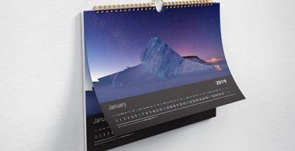 Harga Jasa Desain Kalender Tahun 2020