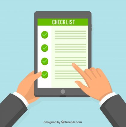Template brand audit checklist