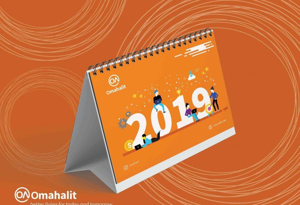 Jasa desain kalender profesional
