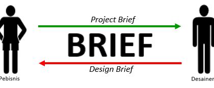 jembatan antara klien dengan desainer